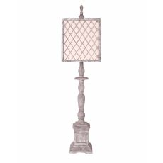 Scarborough Light Grey Table Lamp