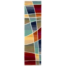 "Liora Manne Amalfi Collage Indoor Rug - Multi, 24"" by 8'"