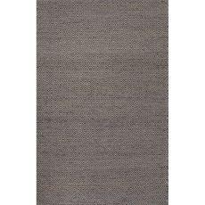 Naturals Tribal Pattern Gray/Black Wool And Hemp Area Rug (9X12)