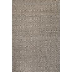 Naturals Tribal Pattern Taupe/Gray Wool And Hemp Area Rug (9X12)