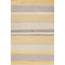 Stripes Pattern Cotton Andy Area Rug