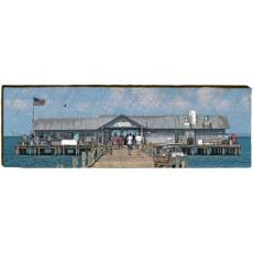 Anna Maria Pier Wood Wall Art