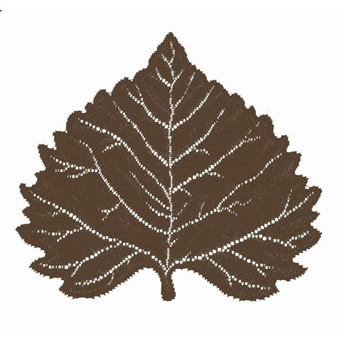Aspen Leaf 14X16 Placemat, Earth