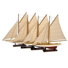 Mini Pond Yachts, Set 4