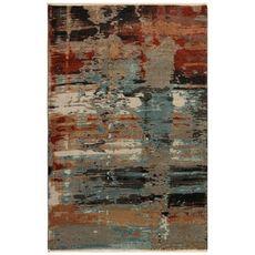 "Liora Manne Ashford Abstract Indoor Rug Multi 7'10""x9'10"""