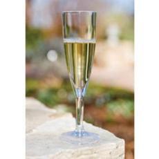 Acrylic Champagne Glasses