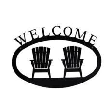 Adirondacks Welcome Sign