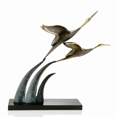 Airborne Cranes Sculpture