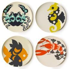 Amalfi Melamine Side Plates