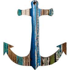 Anchor Wooden Plaque