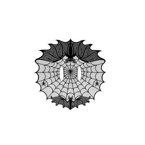 Bats! 60X62 Cape, Black