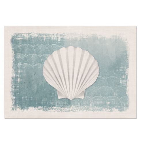 Beachcomber 14X20 Placemat, Oyster