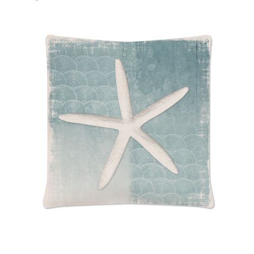 Beachcomber 18X18 Pillow, Oyster