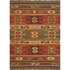 Tribal Pattern Jute Bedouin Area Rug