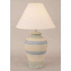 Coastal Lamp Pottery Pot