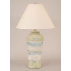 Coastal Lamp Ribbed Pot