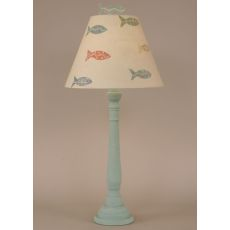 Coastal Lamp Round Buffet Fish Theme