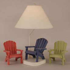 Coastal Lamp Adirondack Chair