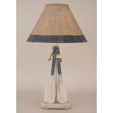 Coastal Lamp 2 Paddle W/ Ropetable Lamp