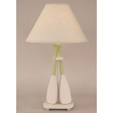 Coastal Lamp 2 Paddle Table Lamp - Weathered Nude/Seagrass Accent