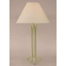 Coastal Lamp Iron Table Lamp W/ 3 Legs