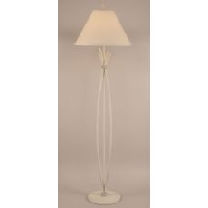 Coastal Lamp Iron Stack W/ Braided Wire Floor Lamp