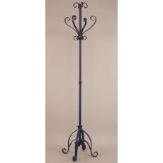 Coastal Lamp Iron Plain Pedestal Coat Rack