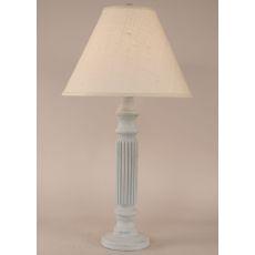 Coastal Lamp Ribbed Table Lamp - Cottage Seaside Villa