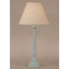 Coastal Lamp Round Buffet - Weathered Atlantic Grey