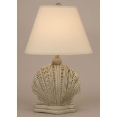 Coastal Lamp Mini Scallop Shell
