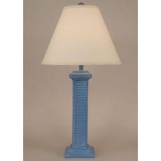 Coastal Lamp Tall Shutter - Blue China Wash