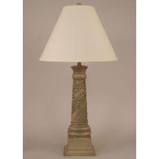 Coastal Lamp Banana Leaf Table Lamp - Antique Grey
