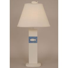 Coastal Lamp Fish Panel Table Lamp
