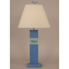 Coastal Lamp Bone Fish Panel Table Lamp