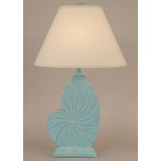 Coastal Lamp Tall Nautical Shell