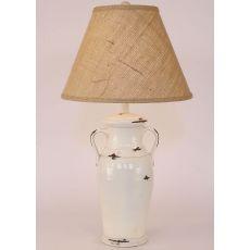 Coastal Lamp 2 Handle W/ Collar Pot