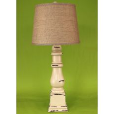 Coastal Lamp Country Squire Table Lamp - Heavy Distressed Cottage