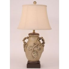 Coastal Lamp Oval Genie Pot - Vintage