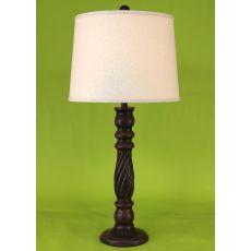 Coastal Lamp Swirl Table Lamp - Rust Streaked