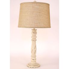 Coastal Lamp Country Squire Table Lamp - Crackle Cottage