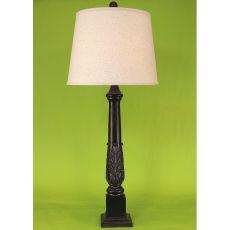 Coastal Lamp Acanthus Leaf Table Lamp - Verdi Gold