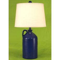 Coastal Lamp 1 Handle Pottery Jug - High Gloss Morning Jewel