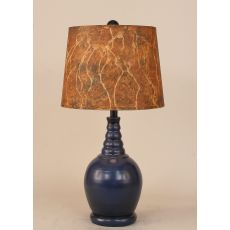 """Coastal Lamp """"B"""" Pot W/ Twist - 10.5X15"""