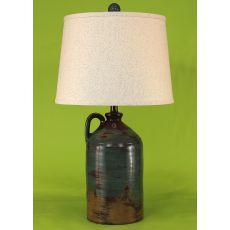 Coastal Lamp 1 Handle Pottery Jug - Harvest