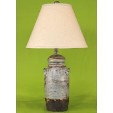 Coastal Lamp Small Slender Crock - Greystone