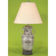 Coastal Lamp Two Handle W/ Collar