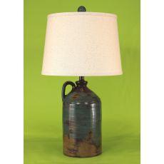 Coastal Lamp Handle Pottery Jug - Harvest