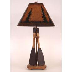 Coastal Lamp 2-Paddle Table Lamp