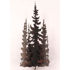 Coastal Lamp Iron Tree Sconce