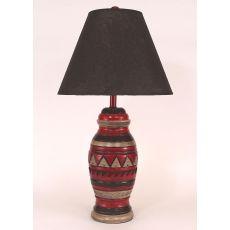 Coastal Lamp Saddle Bag Pattern Pot